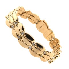 Cartier Gold and Diamond Bracelet