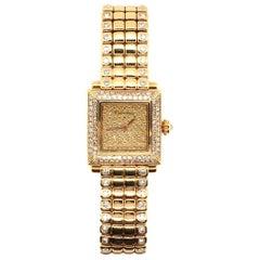 Cartier Gold and Diamond Watch