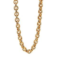 Cartier Gold Glieder Halskette