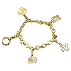 Cartier Gold Charm Bracelet, France