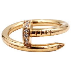 Cartier Gold Diamond Juste un Clou Ring