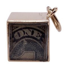 Cartier Gold Emergency Money Charm