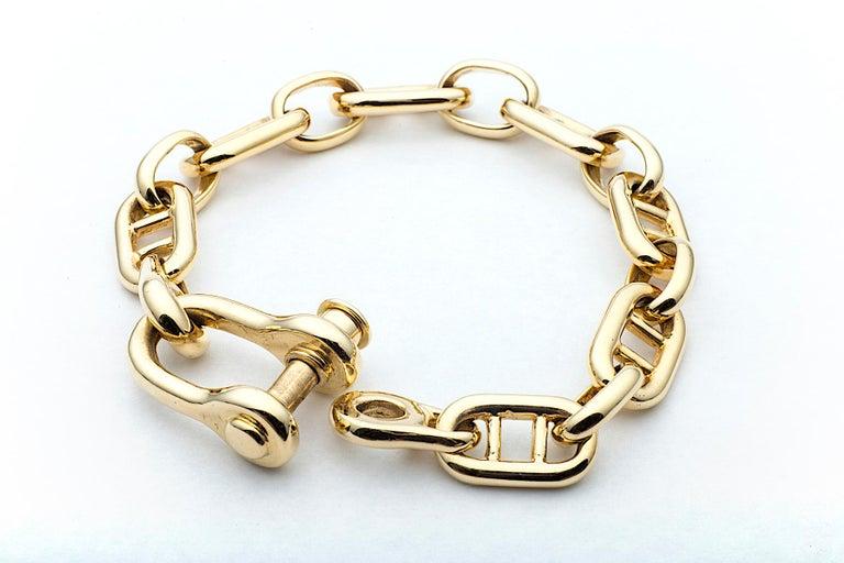 18kt gold bracelet in rope form circa 1975