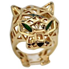 Cartier Gold Open Panthere Ring