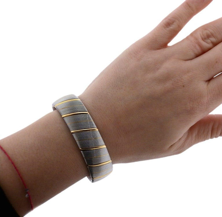 Cartier Gold Stainless Steel Bracelet 2