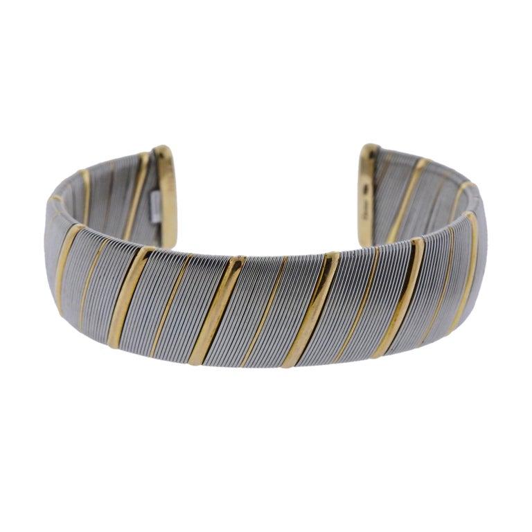 Cartier Gold Stainless Steel Bracelet