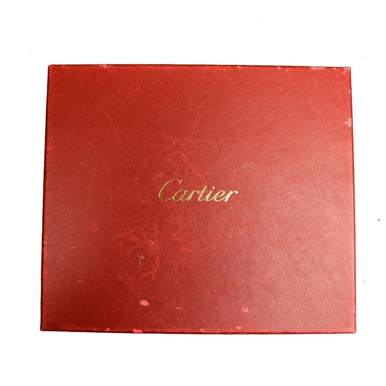 Brilliance Jewels, Miami Questions? Call Us Anytime! 786,482,8100  Designer: Cartier   Non-Metal Material: Porcelain  Total Item Weight (g): 421  Measurements: 6.5 inches (H) ; 8 inches (W)  Depth: 1.5 inches  Collateral: Cartier Box