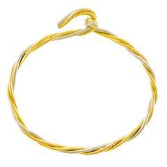 Cartier Gold Trinity Motif Bracelet