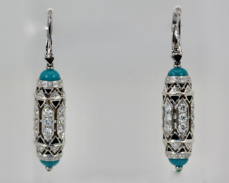 These new and amazing earrings are from a