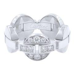 Cartier Himalia 18 Karat White Gold Diamonds Ring