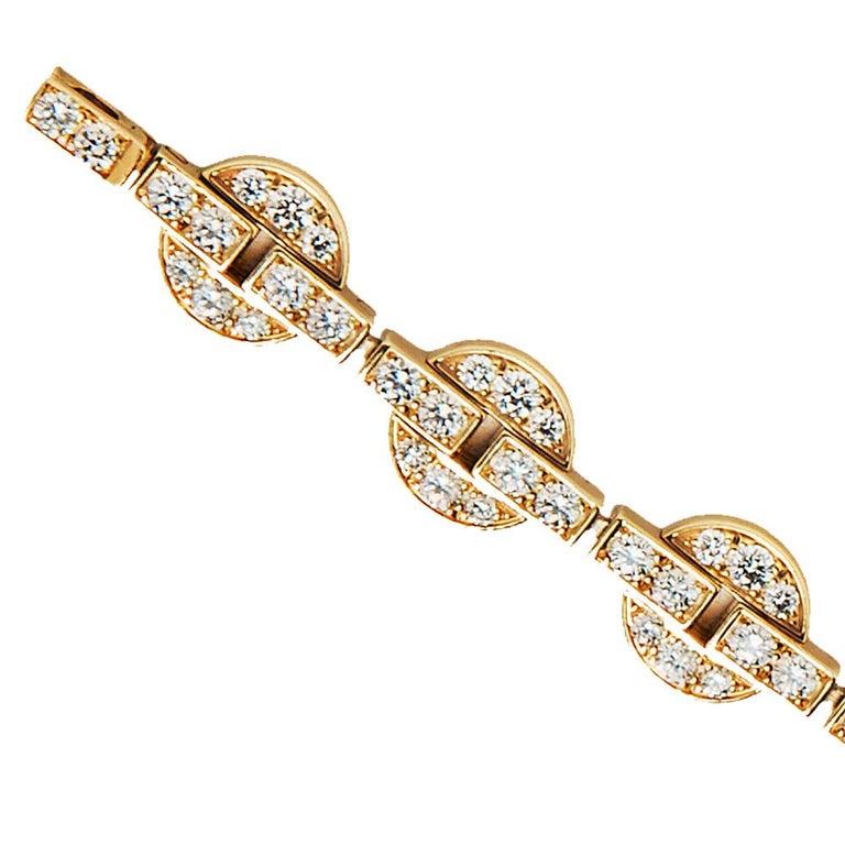 Cartier Himalia Diamond Bracelet In Good Condition For Sale In Boston, MA