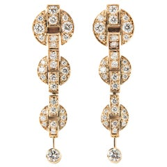 Cartier Himalia Diamond Earrings