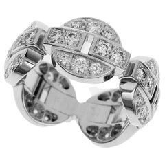 Cartier Himalia Diamond Ring 18k White Gold