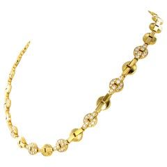Cartier Himalia Yellow Gold Necklace with Diamonds