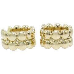 Cartier Honeymoon Collection Huggie Earrings in 18 Karat Yellow Gold