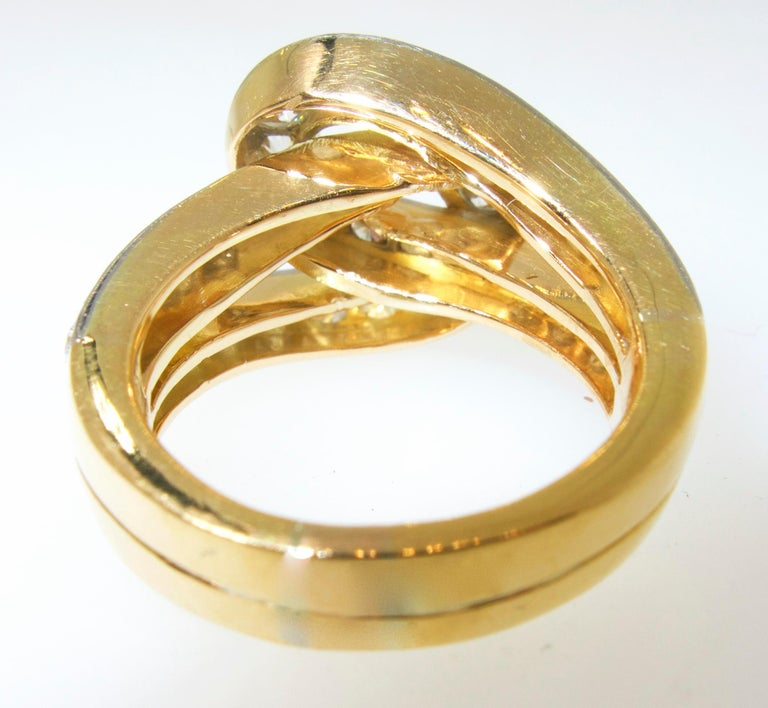 """Cartier Infinity Bracelet: Cartier """"Infinity"""" Diamond Ring, Circa 1950 For Sale At"""