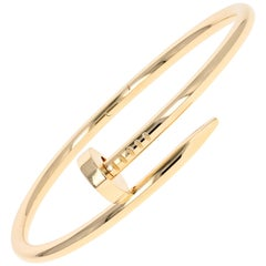 Cartier Just Un Clou Gold Bracelet