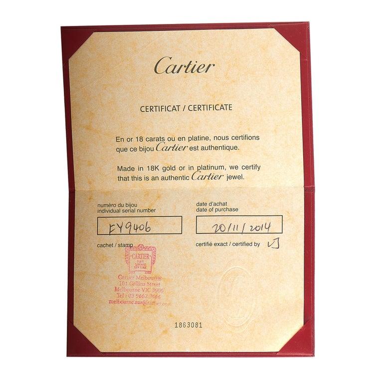 Cartier Juste un Clou 18 Karat Rose Gold Bracelet Size L For Sale 2