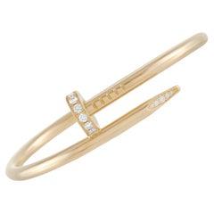 Cartier Juste un Clou 18K Yellow Gold Diamond Bracelet