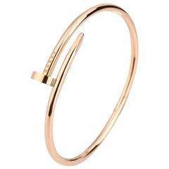 Cartier JUSTE UN CLOU Bracelet Rose Gold