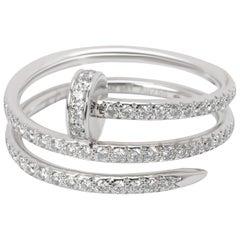 Cartier Juste Un Clou Diamond Ring in 18 Karat Yellow Gold