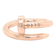 Cartier Juste un Clou Ring 18 Karat Rose Gold