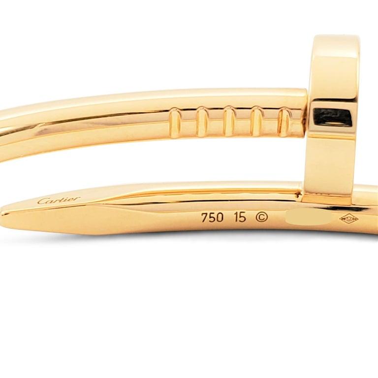 Cartier 'Juste un Clou' Yellow Gold Bracelet 1