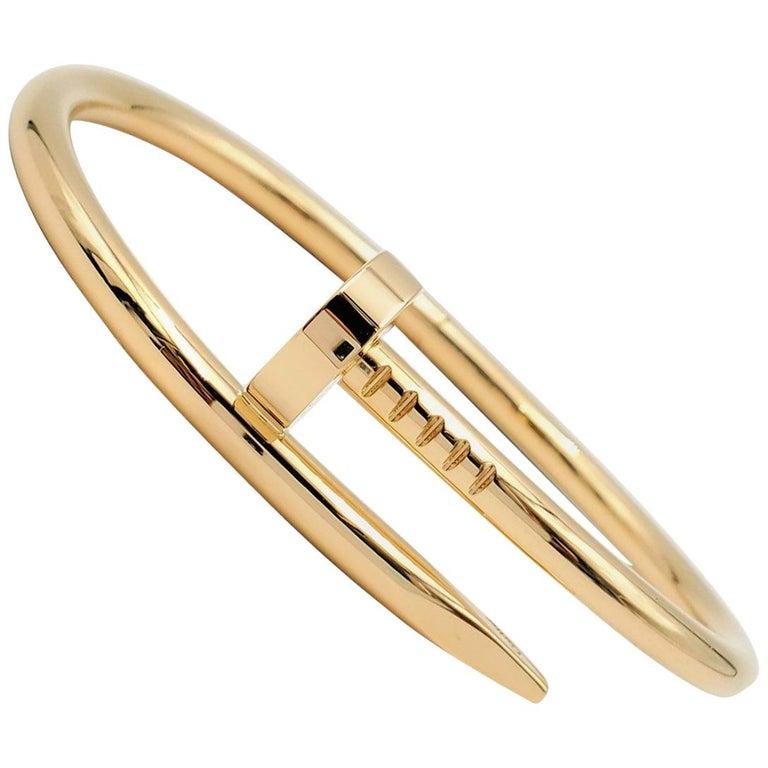 Cartier 'Juste un Clou' Yellow Gold Bracelet