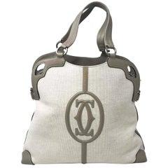 Cartier L1001218 Cartera Dual De Dama Cuero Ladies handbag