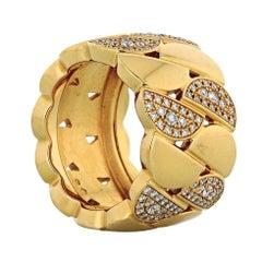 Cartier La Dona 18K Yellow Gold 1.00cts Diamond Ring