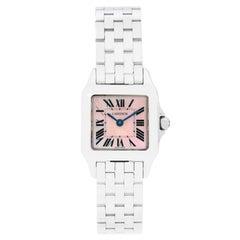 Cartier Ladies Stainless Steel Santos Demoiselle Quartz Wristwatch