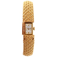 Cartier Ladies Yellow Gold Classique Manual Wristwatch