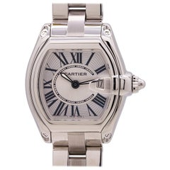 Cartier Lady Roadster Stainless Steel circa 2000s B & P