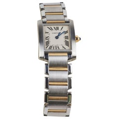 Cartier Lady Tank Francaise (Small) Stainless Steel Watch