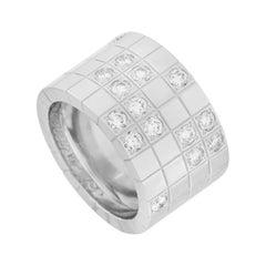 Cartier Lanières 18k White Gold 0.75 Ct Diamond Ring