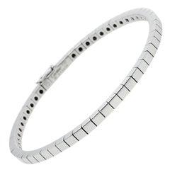Cartier Lanieres 18K White Gold Link Bracelet