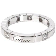 Cartier Lanieres Diamond Band in 18 Karat White Gold