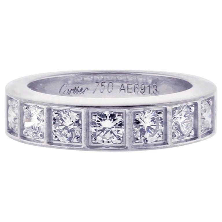 Cartier Lanières Diamond Band Ring For Sale