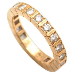 Cartier Lanieres Diamond Eternity Ring - Size 6