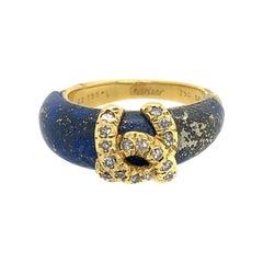 Cartier Lapis Lazuli Diamond Ring