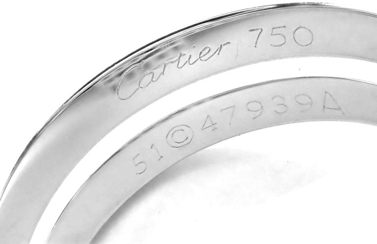 Cartier Le Baiser Du Dragon Ruby Diamond Gold Ring For Sale 2