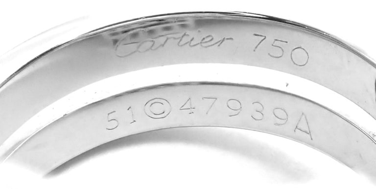 Cartier Le Baiser Du Dragon Ruby Diamond Gold Ring For Sale 4