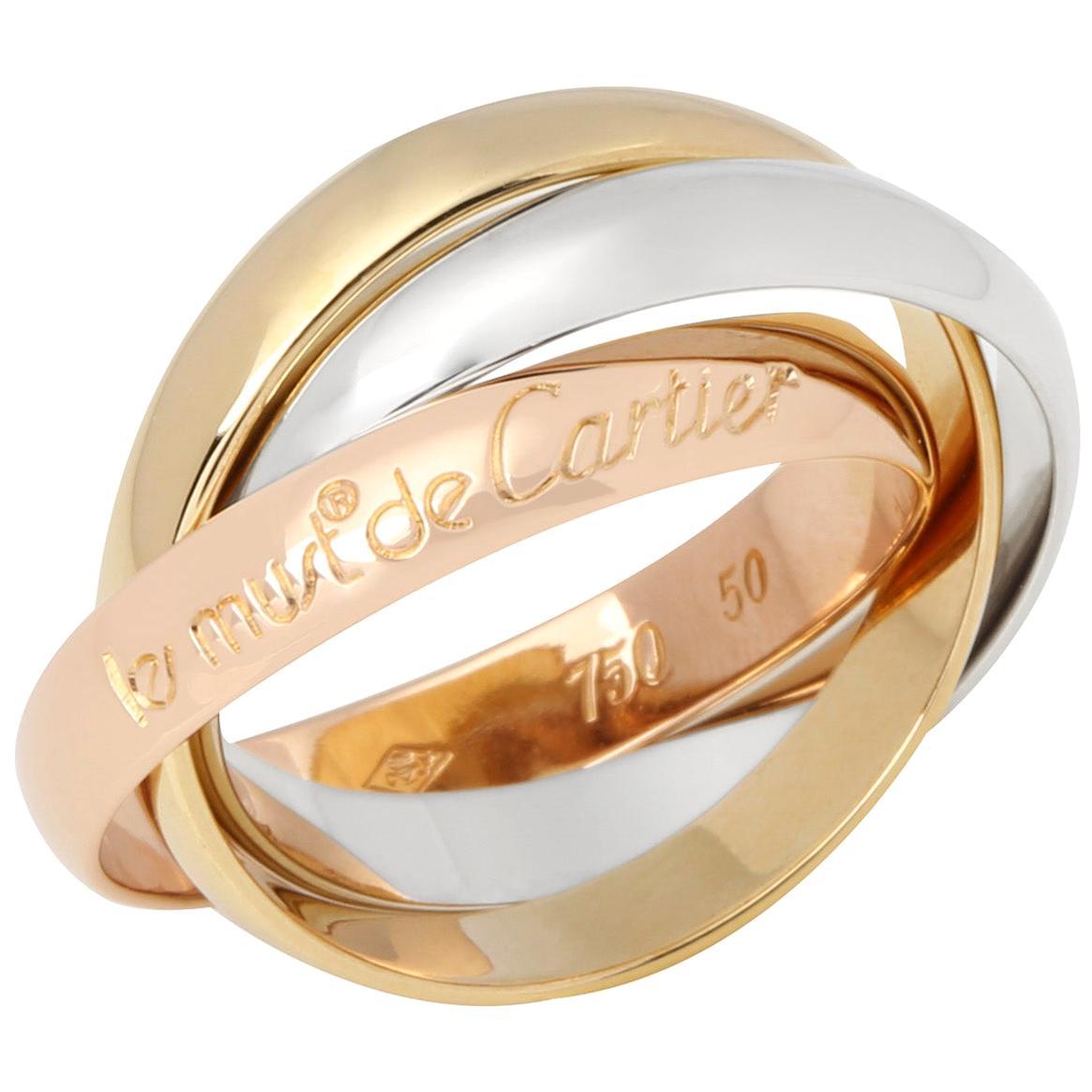 Cartier Les Must De Cartier Tri Colour Ring