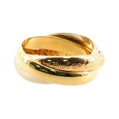 Cartier Les Must de Cartier Trinity Ring 18 Karat Tricolor Gold