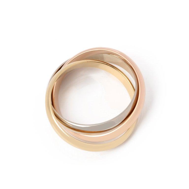 Contemporary Cartier Les Must De Cartier Trinity Ring For Sale