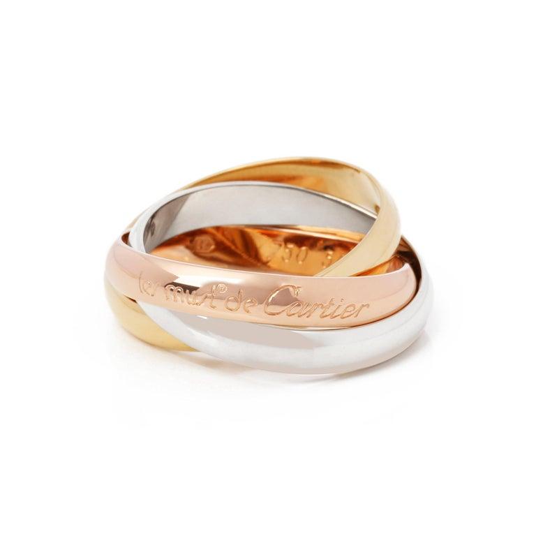 Cartier Les Must De Cartier Trinity Ring In Good Condition In Bishop's Stortford, Hertfordshire