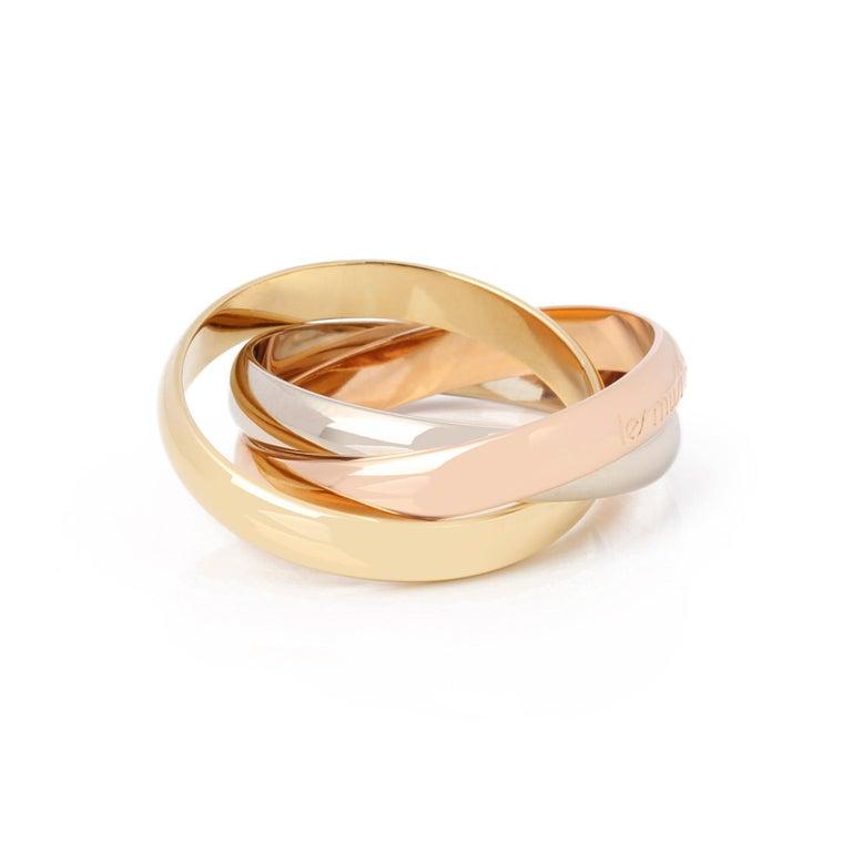 Women's or Men's Cartier Les Must De Cartier Trinity Ring
