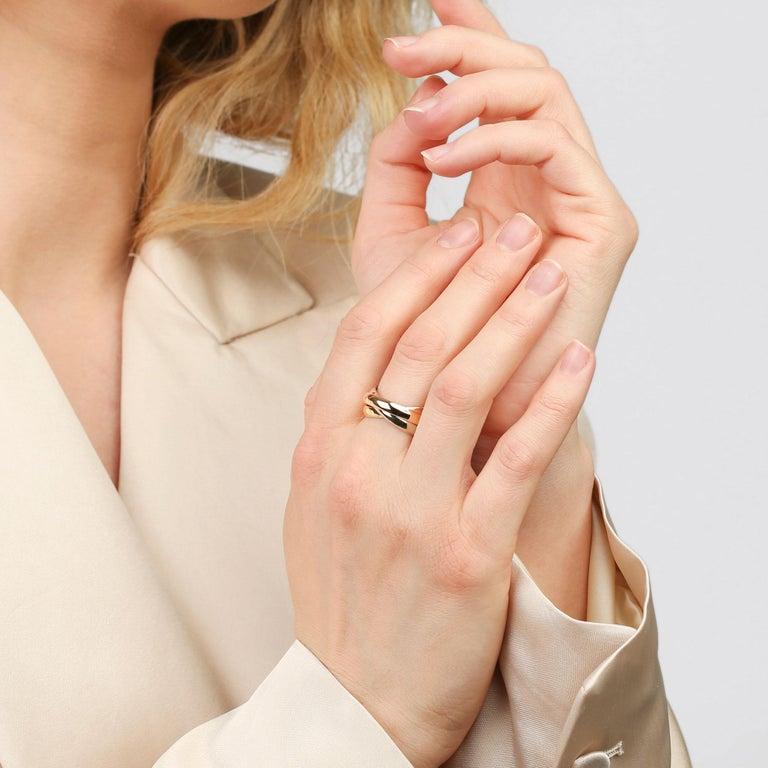 Women's or Men's Cartier Les Must De Cartier Trinity Ring For Sale