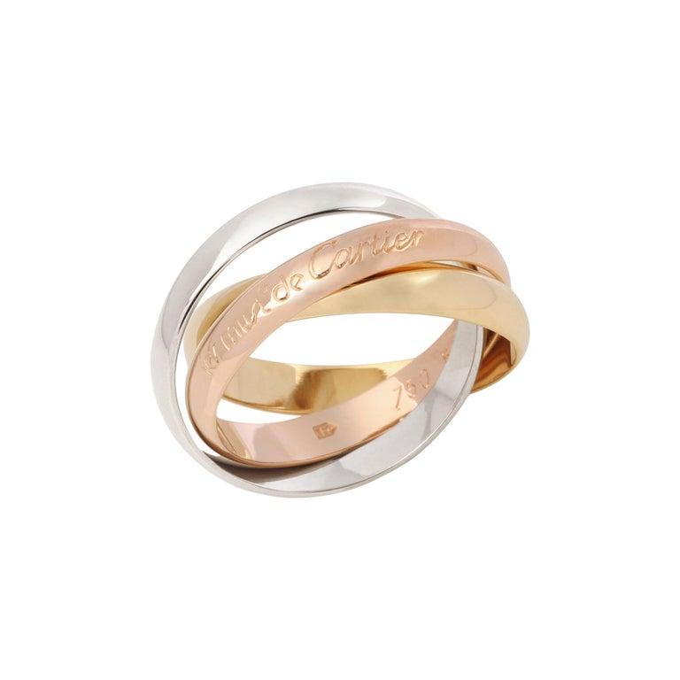 Cartier Les Must De Cartier Trinity Ring For Sale