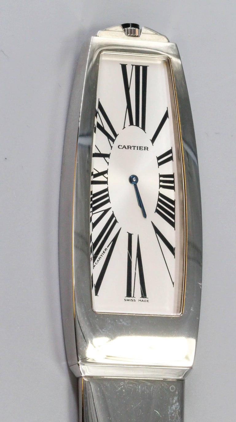 Women's or Men's Cartier Limited Edition Letter Opener with Clock For Sale